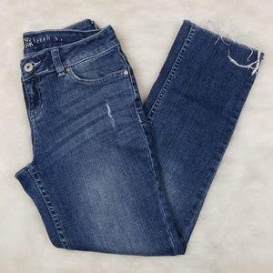 Simply Vera Vera wang straight crop jeans